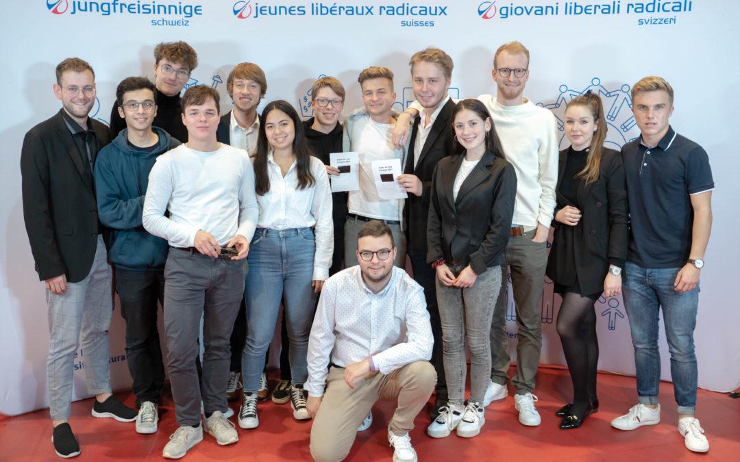 Un fribourgeois à la vice-présidence des Jeunes Libéraux-Radicaux Suisse